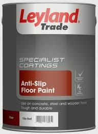 leyland trade anti slip floor paint tile 5l