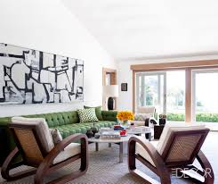 Living Room With Fireplace In The Middle by 20 Mid Century Modern Living Rooms Best Mid Century Decor