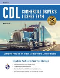 CDL - Commercial Driver's License Exam, 6th Ed. EBook By Matt Mosher ...