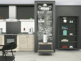 Actinium Kitchen Accessories Found In TSR Category Sims 4 Sets