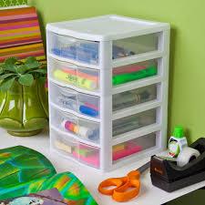 Sterilite Storage Cabinet Grow by Sterilite Small 5 Drawer Unit Walmart Com