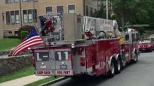100 New York Fire Trucks US Flags Called Liability Ordered Removed From Fire