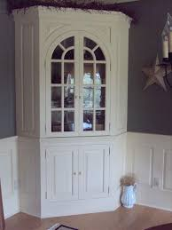Outstanding Corner Cabinet Dining Room Hutch The For Throughout Hutches