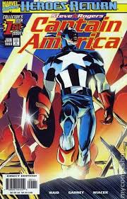 Captain America Comic Books For Sale Johnsons Collectibles