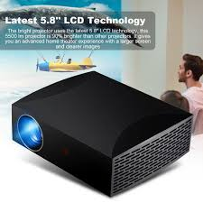 100 Bright Home Theater CCing 5500Lm HD 1080P LED Smart Projector HDMI Beamer Sinema Sistemi