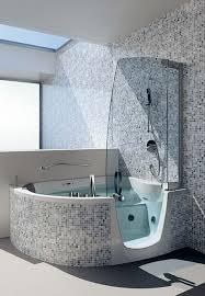 Badewanne Mit Dusche Badewanne Mit Duschzone Tolle Beispiele Archzine