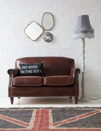 Living Room Ideas Brown Sofa Uk by 10 Beautiful Brown Leather Sofas Leather Furniture Vintage