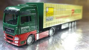 Herpa Trucks 066235 MAN TGX XXL Curtain Canvas Semitrailer