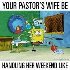 Spongebob Pastors Wife Meme