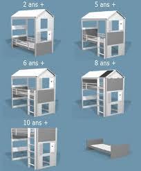 chambre enfant sur mesure chambre enfant sur mesure lit cabane lit mezzanine