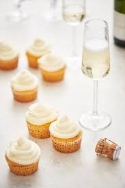 Recipe French 75 Cupcakes