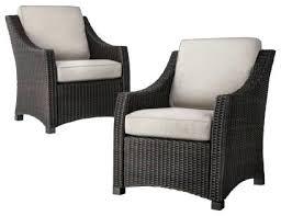 Threshold Patio Furniture Threshold Wicker Patio Club Chair Tan