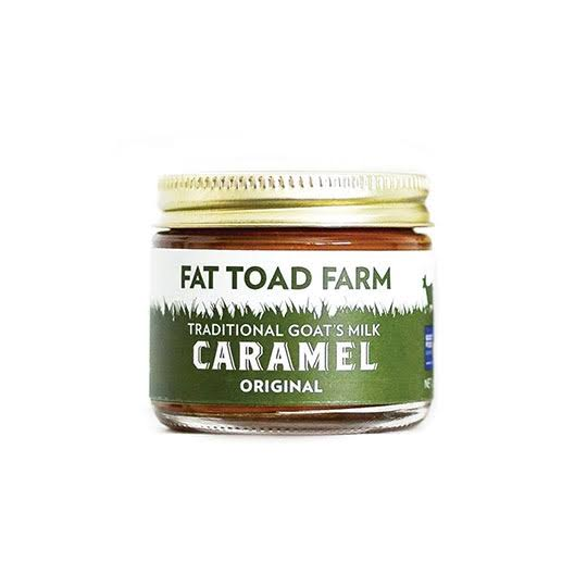 Fat Toad Farm Gluten Free Original Goat's Milk Caramel Petite Jar - 2oz