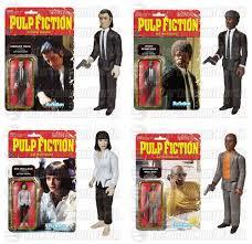 Pumpkin Pie Pulp Fiction by The Blot Says Pulp Fiction Reaction Retro Action Figures By