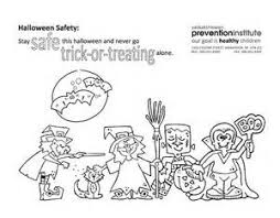 Halloween Safety Coloring Pages 14 Mcgruff Sheet
