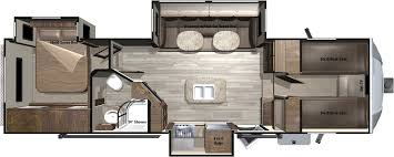 5th Wheel Campers With Bunk Beds by 2017 Light Fifth Wheels Lf295fbh By Highland Ridge Rv
