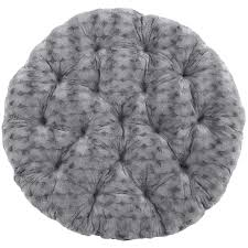 Pier One Round Chair Cushions by Fuzzy Charcoal Papasan Cushion Pier 1 Imports