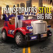 Transformers Style Truck Kids Ride On Car Childrens Electric Cars ... White Ricco Licensed Ford Ranger 4x4 Kids Electric Ride On Car With Fire Truck In Yellow On 12v Train Engine Blue Plus Pedal Coal 12v Jeep Style Battery Powered W Girls Power Wheels 2 Toy 2019 Spider Racer Rideon Car Toys Electric Truck For Kids Vw Amarok Black Rideon Toys 4 U Ford Ranger Premium Upgraded 24v Wheel Drive Motors 6v 22995 New Children Boys Rock Crawler Auto Interesting Sporty W Remote Tonka Ride On Mighty Dump Youtube