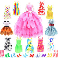 Amazoncom CoKie 22 Items Ball Party Dresses Fashion Pack For 11