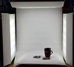 A custom LED light box for photography