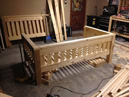 Bunk Bed Plans Pdf by Ana White Twin Over Full Bunk Bed Diy Projects Plans For A
