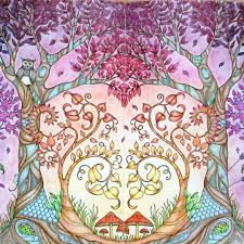 1102 Best Johanna Basford Enchanted Forest Images On Pinterest