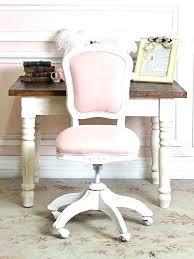 Fuzzy Desk Chair Office Pink Furry Black