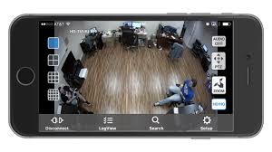 View HD Security Cameras on iDVR PRO iPhone App