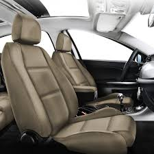 couvre siege auto cuir gold cuir simili 2 sièges avant housse sur mesure bancarel