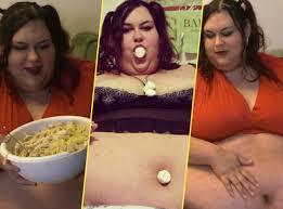 femmes plus cuisine pensant plus de 300 kg mange pour devenir la femme la plus