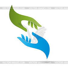 hands wellness massage occupational therapy vector clipart