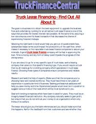 Truck Lease Financing - Find Out All About It By Caarlin Wilson - Issuu Leasing Rental Burr Truck Full Service Lease Trailer Repair Rent To Own Semi Trucks Big Rig Over The Road Penske Talks Electric Trucks Charging Standards Medium Duty Work Tec Equipment Leasing Portland Lrm No Credit Check Fancing Loans That Will Drive Your Business Forward Yes Rays Sales Custom Search Fedex For Sale Commercial Volvo Hino Mack Indiana