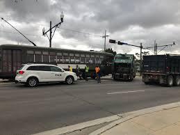 100 Truck Vs Car Meghan Kee On Twitter Garbage Truck Vs Street Car Accident On