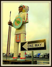 100 Big Cabin Truck Stop Stop Sentinel Standing Brave Statue Tr Flickr