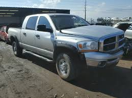 100 Trucks For Sale In Colorado Springs 3D7KS29C46G229934 2006 SILVER DODGE RAM 2500 On In CO