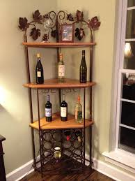Pulaski Corner Curio Cabinet 20206 by Custom Corner Wine Rack Projects Pinterest Corner Wine Rack