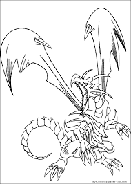 Yu Gi Oh Color Page Cartoon Characters Coloring Pages Plate