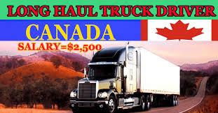 100 Long Haul Trucking Jobs LONGHAULTRUCKDRIVER In Canada