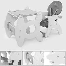 bureau pour bébé combinaison multifonctionnelle de chaise à manger pour bébés chaise