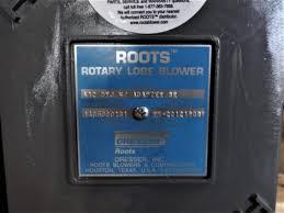 dresser roots 412 rotary lobe blower steven levy enterprises