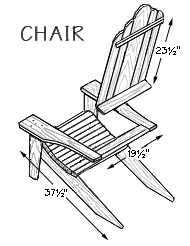 hometime how to patio furniture making adirondack chairs