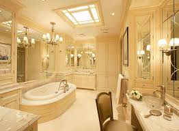 Paint Color For Bathroom With Beige Tile by Beige Tile Bathroom Cladding Wall Mounted Wooden Vanity With