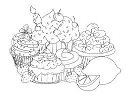 127 Best Cupcake Colouring Images On Pinterest