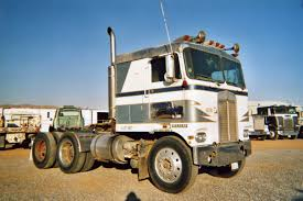 100 Cabover Truck For Sale Westway S And Trailer Parking Or Storage View