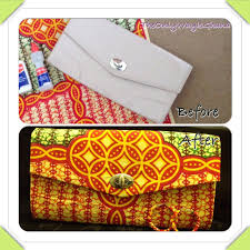 diy how to cover a clutch bag with african ankara farbic youtube