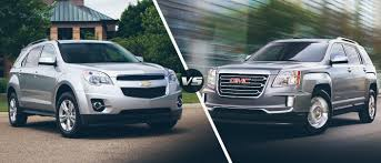 The 2016 Chevy Equinox Vs. 2016 GMC Terrain - McCluskey Chevrolet Gmc Comparison 2018 Sierra Vs Silverado Medlin Buick F150 Linwood Chevrolet Gmc Denali Vs Chevy High Country Car News And 2017 Ltz Vs Slt Semilux Shdown 2500hd 2015 Overview Cargurus Compare 1500 Lowe Syracuse Ny Bill Rapp Ram Trucks Colorado Z71 Canyon All Terrain Gm Reveals New Front End Design For Hd