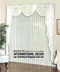 Valances Curtains For Living Room by Swag Valances Flip Pole Swag Valance Installation 4 Emelia Sheer