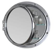 extraordinary royal naval porthole mirrored medicine cabinet 38 in
