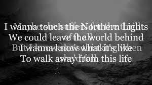 Jaymes Young Northern Lights Lyrics video