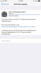 iOS 11 2 Beta 6 Released Days After Beta 5 — Expect Public Version